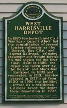West Harrisville Historical Plaque
